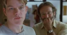 ロビン・ウィリアムズが若者に席を譲った『グッド・ウィル・ハンティング』
